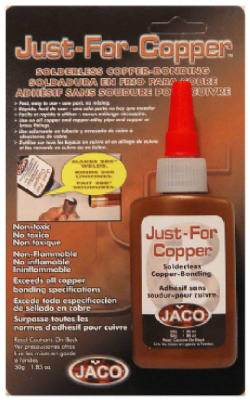 Just-For-Copper 31050 Solderless Copper Bonding, 1.85 Oz
