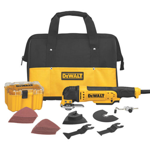 DeWalt® DWE315K Quick-Change™ Oscillating Multi-Tool Kit, 3.0A