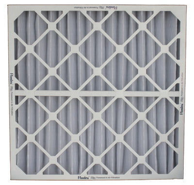 "Flanders Pre Pleat® 40 LPD MERV 8 Air Filter, 16"" x 25"" x 4"""