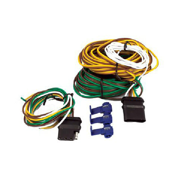 Uriah Products® UE110024 4-Way Flat Complete Wiring Trailer Kit