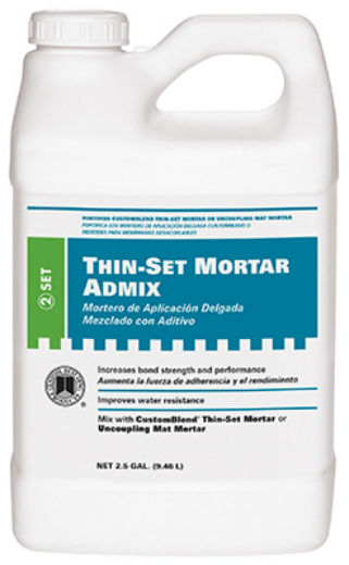 Custom® AMA2 Thin-Set Mortar Admix, 2.5 Gallon