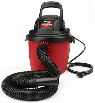 Shop-Vac 2036000 Plastic Tank Portable Wet/Dry Vac, 2.5 Gallon, 2.5 Peak  HP