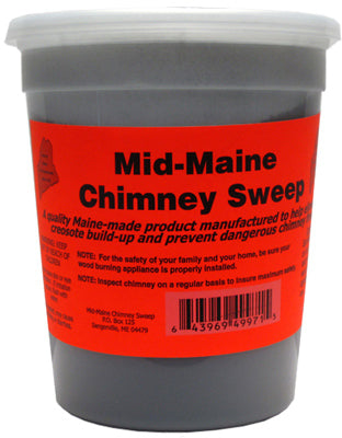 Mid-Maine 00643969499715 Chimney Sweep for Creosote Build Up, 2.5 lb