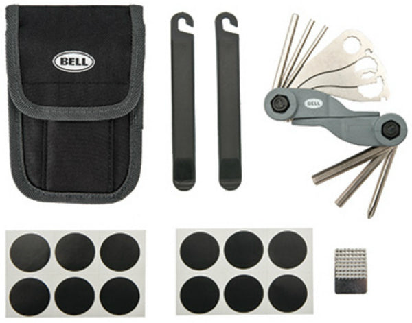 Bell 7015862 Roadside 500 11 Bike Tools & Patch Kit