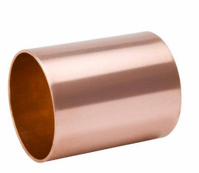 Mueller W610150 Streamline® Wrot Copper Coupling with Stop, 2""