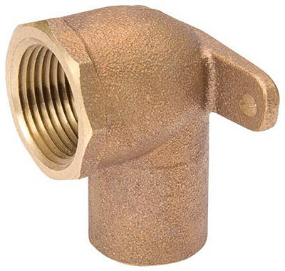 "Mueller A-61508NL Streamline® Drop Ear Elbow 90°, 1/2"", Cast Copper"