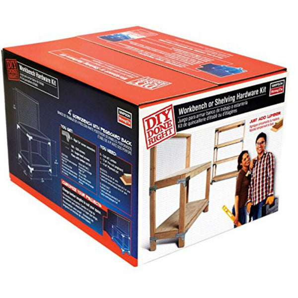 Simpson Strong-Tie WBSK Workbench & Shelving Hardware Kit