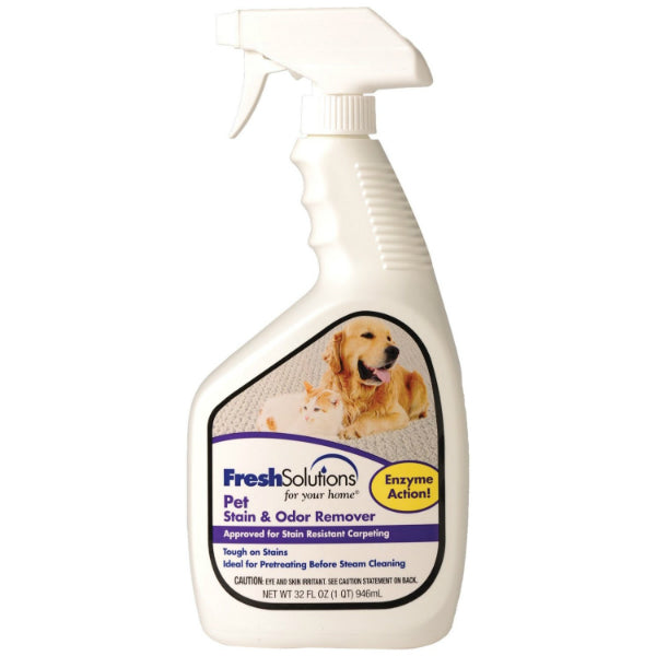 Fresh Solutions® 70708 Pet Stain & Odor Remover, 32 Oz