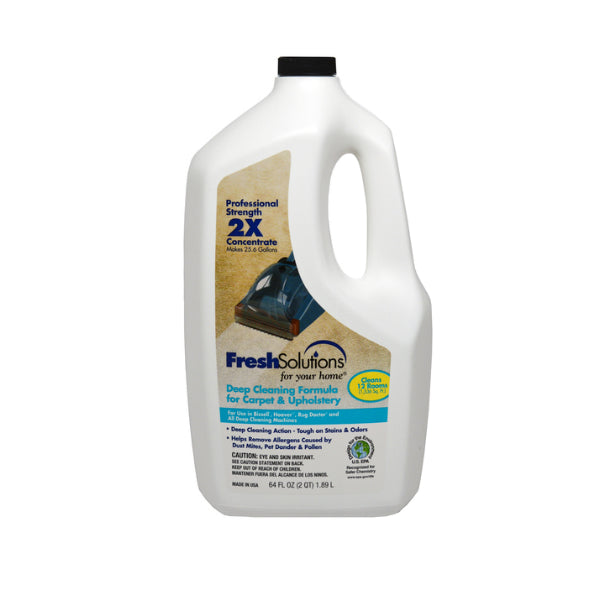 Fresh Solutions® 70684 2X Deep Cleaning Formula Carpet Cleaner, 64 Oz