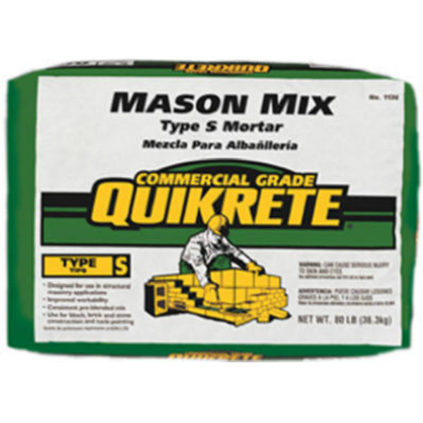 Quikrete® 1136-00 Commercial Grade Mason Mix, 60 Lbs