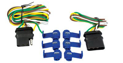 Uriah Products® UE110100 4-Way Flat Trailer & Vehicle Wiring Kit