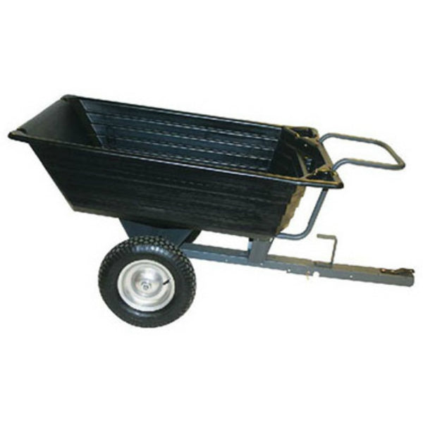Precision LCP1000PP Poly Dump Trailer, 10 Cu.Ft., 650 Lbs Capacity