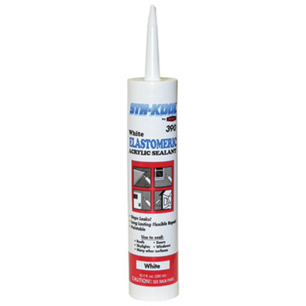 Sta-Kool® SK-3909 White Elastomeric Roof Patch, 10.1 Oz