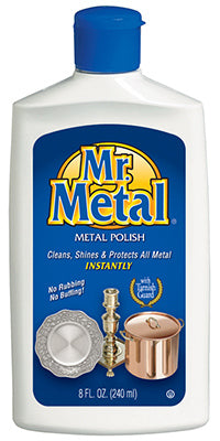 Mr. Metal 707284 Metal Polish with Tarnish Guard, 8 Oz
