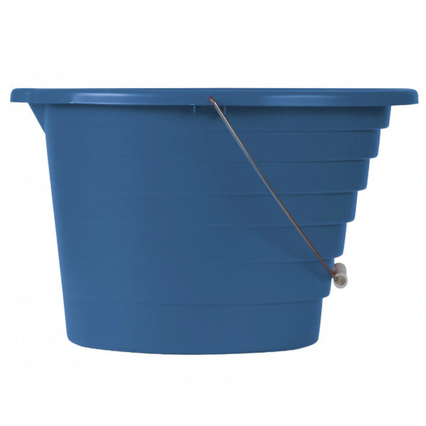 United Solutions® PA0065 Graduated Pail with Metal Handle, 15 Qt, Blue