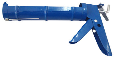 "Tianjin Jinmao JM-108SS Smooth Rod Caulk Gun, 9"", Painted Steel Frame"