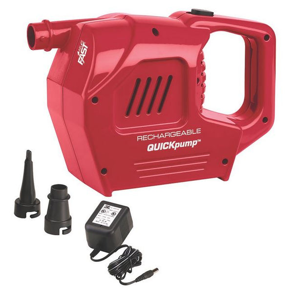 Coleman® 2000017848 QuickPump™ Rechargeable Pump w/ Valve Adaptors & Charger