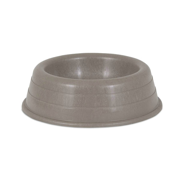 Ruffmaxx 23443 Duralast Dog Bowl, Taupe, 48 Oz, Medium