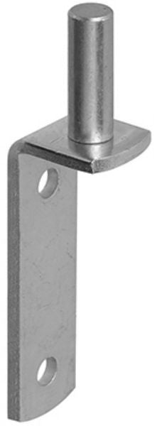 National Hardware® N131-409 Steel Gate Pintle, Zinc Plated, 5/8""