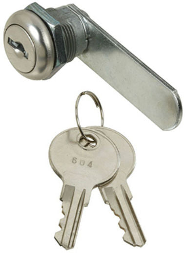 "National Hardware® N185-272 Door/Drawer Utility Lock, Chrome, 1/4"", VKA825"