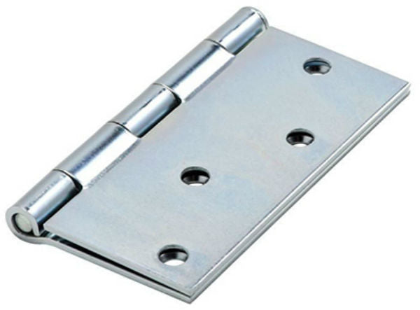 "National Hardware® N830-195 Square Corner Door Hinge, 4"", Zinc"