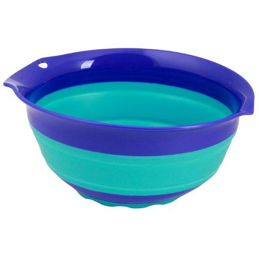 Squish™ 41004 Collapsible Mixing Bowl, Blue, 3 Quart