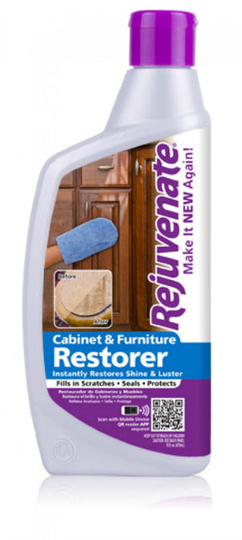 Rejuvenate® RJ13CSCB Cabinet & Furniture Restorer, 13 Oz