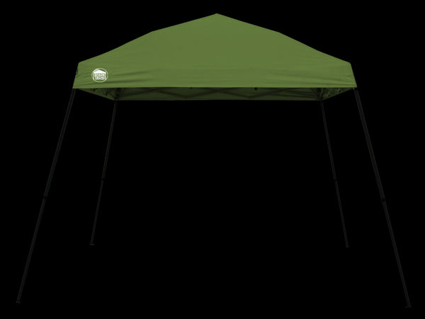 Quikshade 157386 Shade Tech II Instant Canopy, ST64, 10' x 10', Green