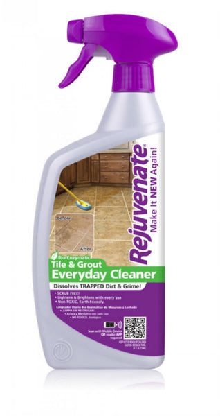 Rejuvenate® RJ24BC Bio-Enzymatic Tile & Grout Everyday Cleaner, 24 Oz