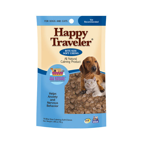 Ark Naturals 21002 Happy Traveler Chicken Soft Chews, 120-Count