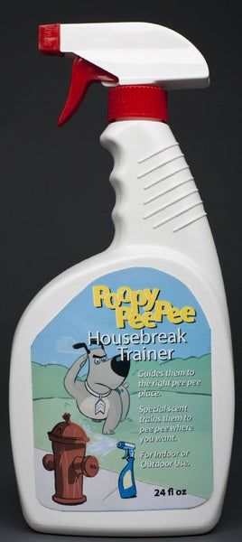 Poopy Pee Pee 6024-0 Housebreak Trainer Liquid Spray, 24 Oz