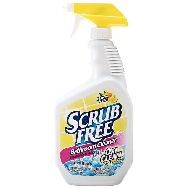 OxiClean™ 35240 Scrub Free Bathroom Cleaner, Lemon Scent, 32 Oz