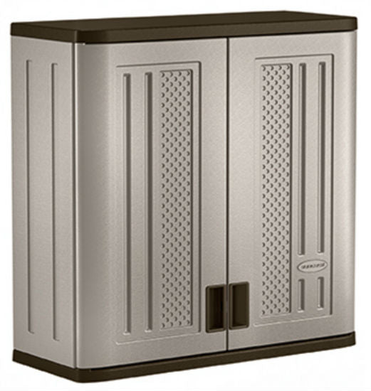 "Suncast® BMC3000 Wall Storage Cabinet, 30-1/4"", Resin Construction"