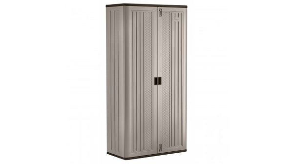 "Suncast® BMC8000 Mega Tall Storage Cabinet, 80.25"" Tall, Double Wall Resin"