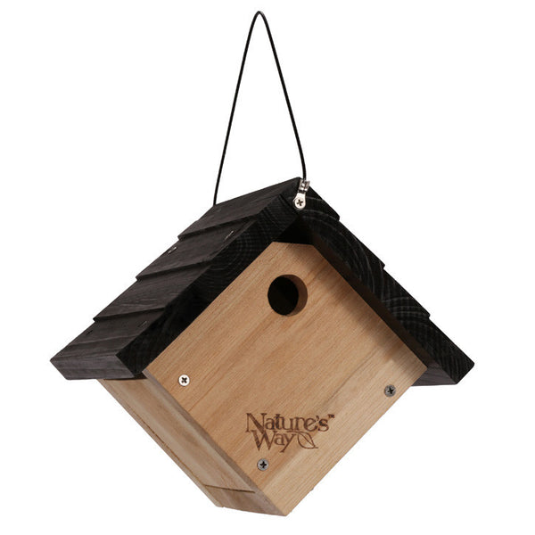 Nature's Way™ CWH1 Cedar Traditional Wren House