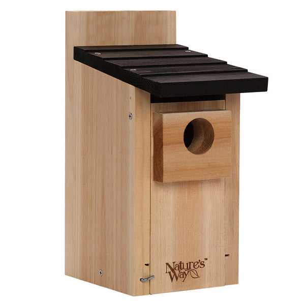 Nature's Way™ CWH3 Cedar Bluebird Box House