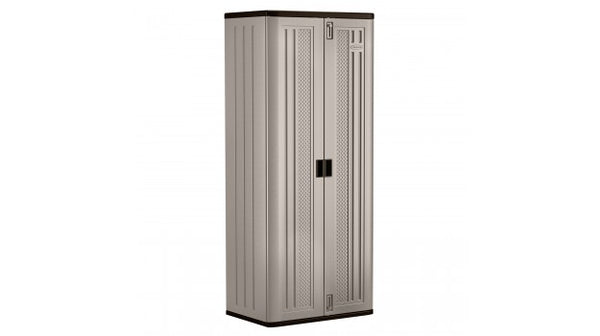 "Suncast® BMC7200 Storage Cabinet, 72"" Tall, Double Wall Resin Construction"