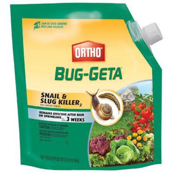 Ortho® 0475510 Bug-Geta® Snail & Slug Killer, 3.5 Lbs