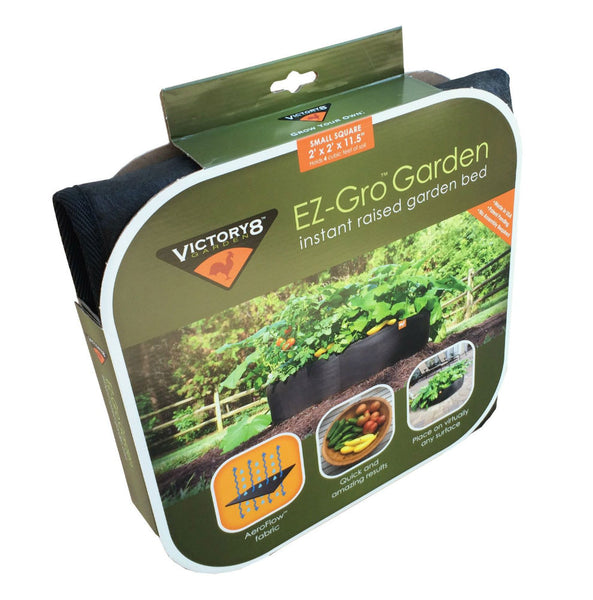Victory 8 Garden 3000 EZ-Gro Instant Raised Garden Bed, Small Square, 2' x 2'