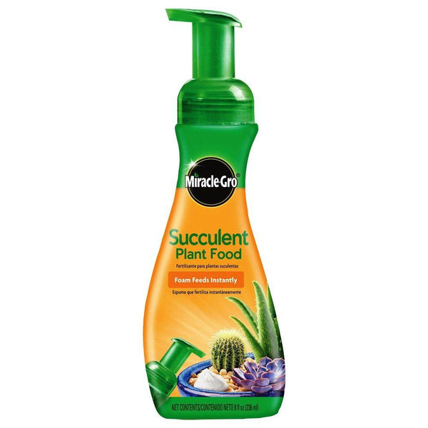 Miracle-Gro® 1000532 Foaming Succulent Plant Food, 8 Oz