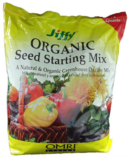 Jiffy® G312 Natural & Organic Seed Starter Potting Mix, 12 Quart