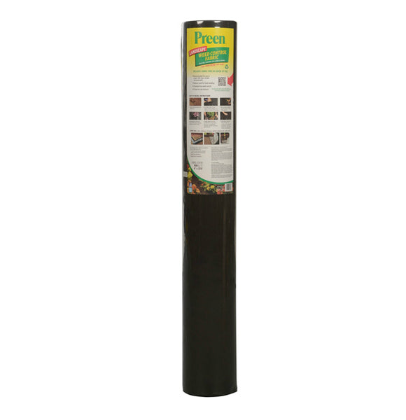 Preen® 428-P Landscape Weed Control Fabric, 30-Year, 4' x 50'