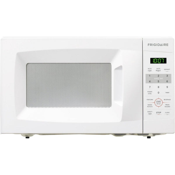 Frigidaire® FFCM0724LW Countertop Microwave, 0.7 Cuft, White, 700W Output Power