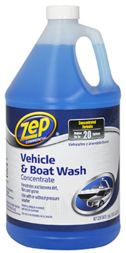 Zep Commercial ZUVEH128 Vehicle & Boat Wash Concentrate, 128 Oz
