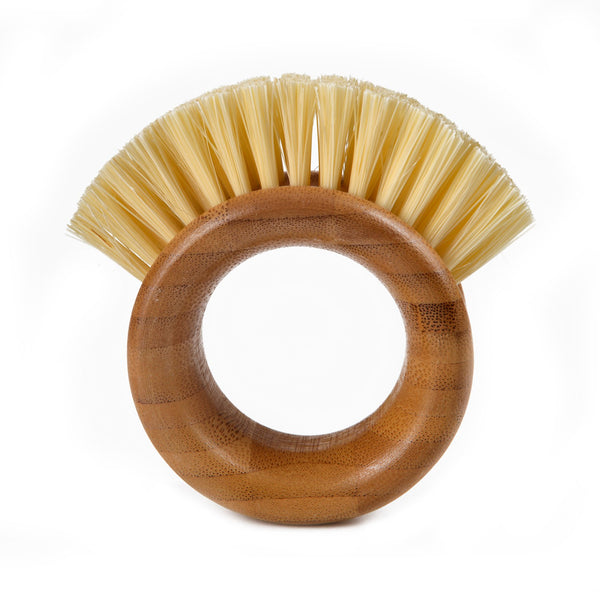 Full Circle® FC09106 The Ring™ Bamboo Vegetable Brush