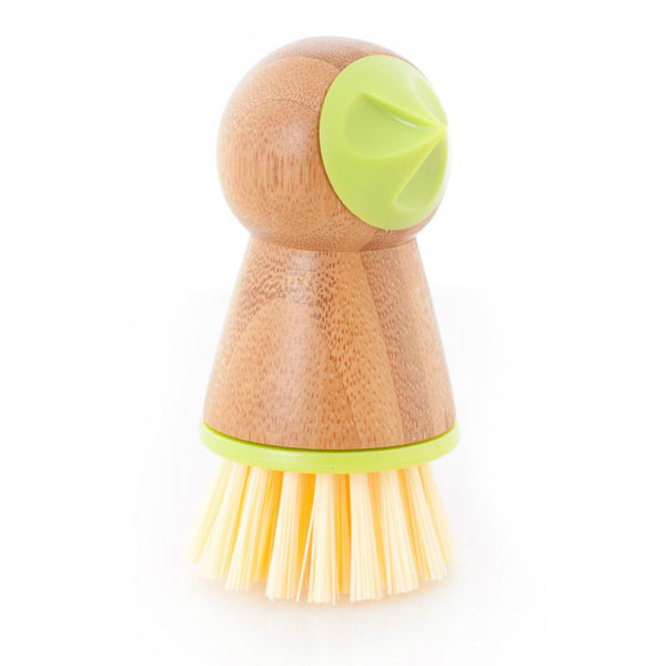 Full Circle® FC11124 Tater Mate™ Potato Brush with Eye Remover, Green
