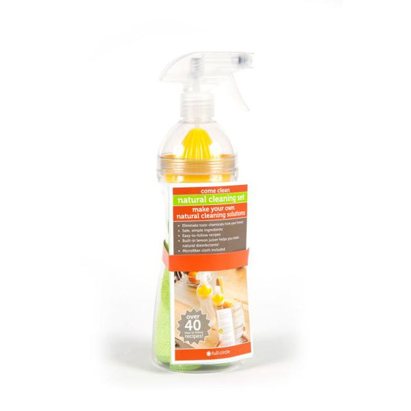 Full Circle FC10110 Come Clean Spray Bottle with Recipe Book