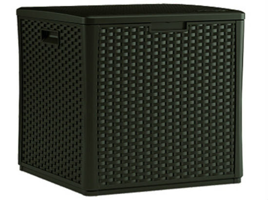 Suncast® BMBD60 Cube Deck Box, 60 Gallon Storage Capacity