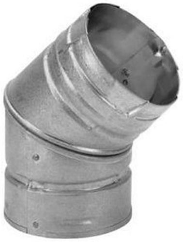 DuraVent® 3PVL-E45R Pellet Vent 45-Degree Elbow, 3""