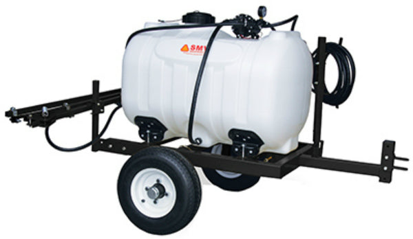 SMV 60TW533HLB2G5N Deluxe Trailer Sprayer, 60 Gallon Capacity, 5.3 GPM Pump